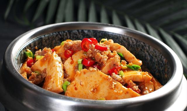 黄焖干豆腐