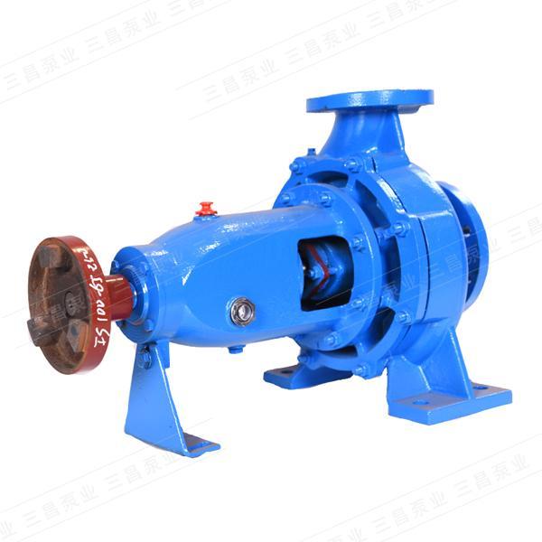 单级双吸离心泵结构图