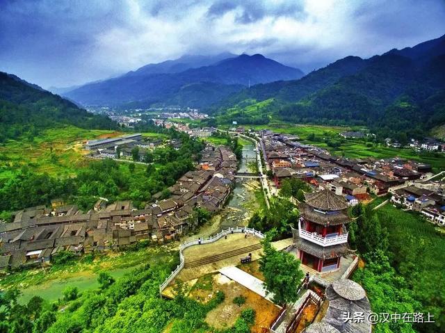 宁强县羌博园照片