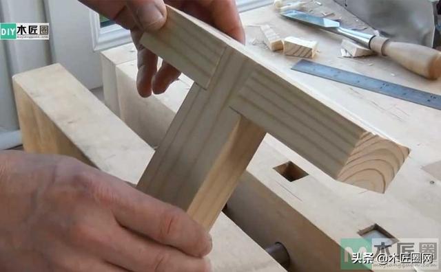 「创意榫卯」 一个藏在木头里的灵魂,诠释斜锥燕尾榫的工艺图解