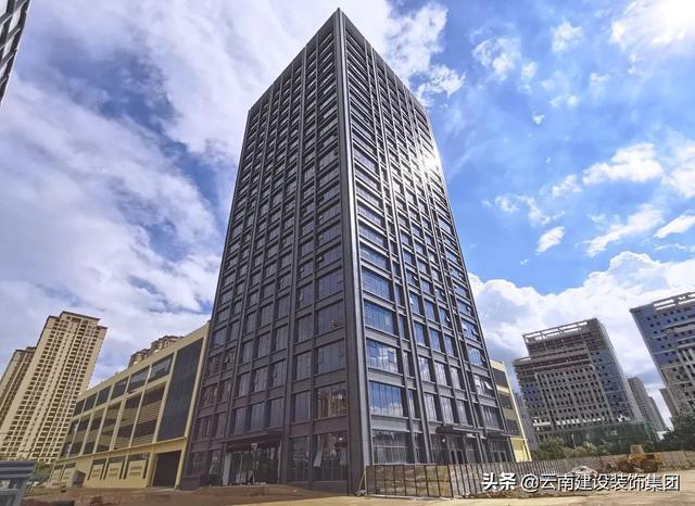 「云南建裝 | 幕墻」大道至簡,打造現代都市建筑的凝練美