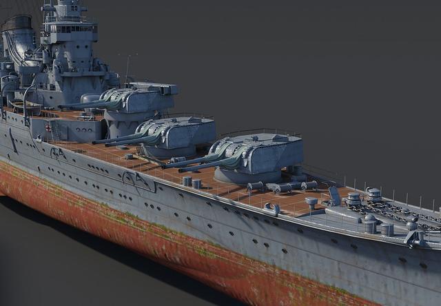 高雄号重巡洋舰碧蓝