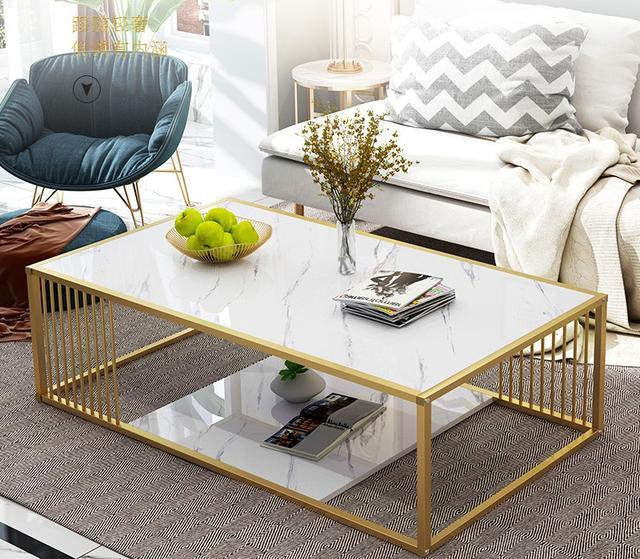 现代轻奢沙发茶几餐桌