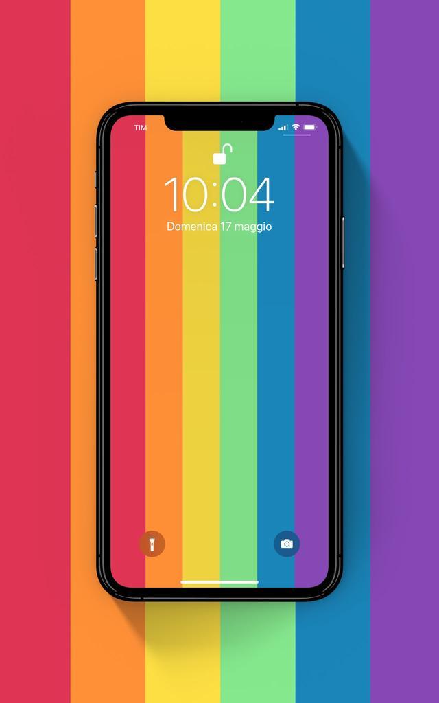 今日壁纸分享:超美高清彩虹与渐进色