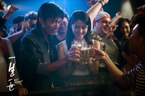 谢霆锋为了高圆圆才接的电影《一生一世》,看了两遍还想看