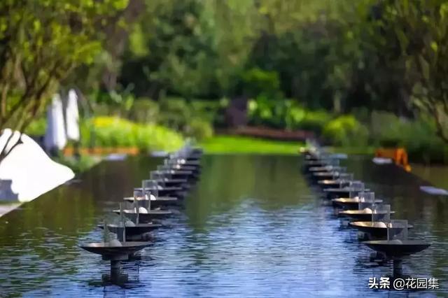 庭院鱼池风水方位图