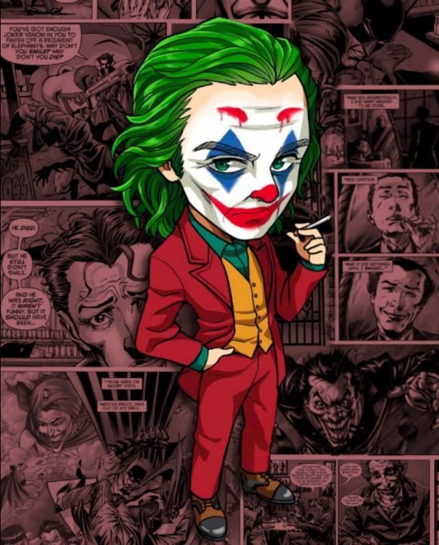 x小队小丑男高清壁纸