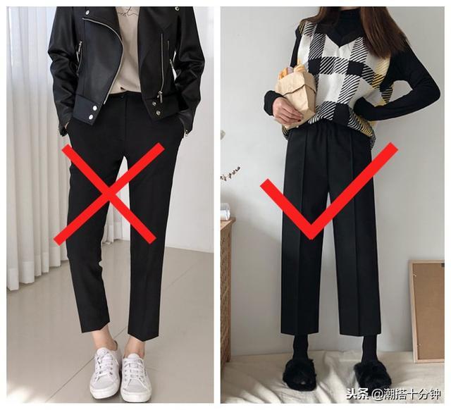 一条普通的黑色打底裤怎么搭配?当然是打底裤裙更时尚啦!