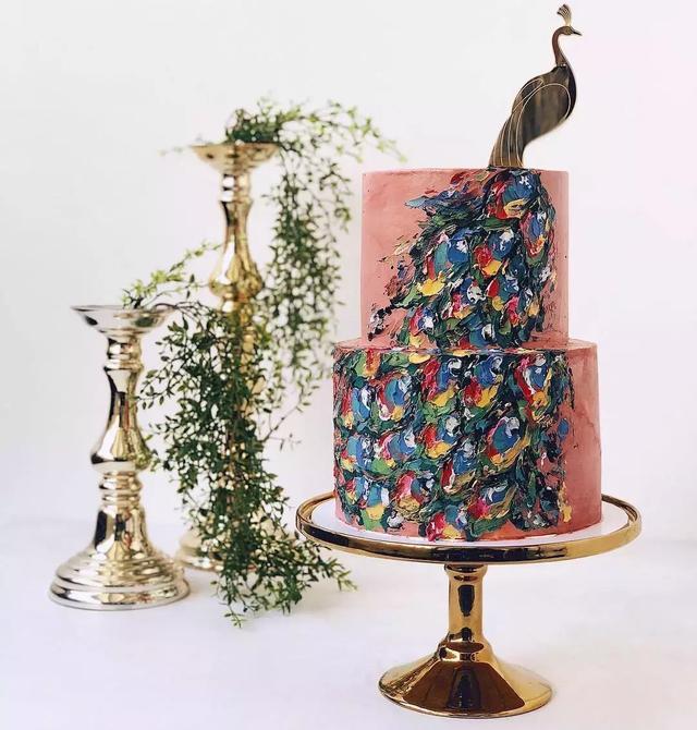 50款精美蛋糕,這個制作需要藝術感