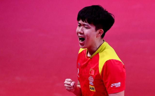 王楚钦4-1梁靖崑,半决赛对阵马龙,很谦虚直言向龙哥学习 第1张