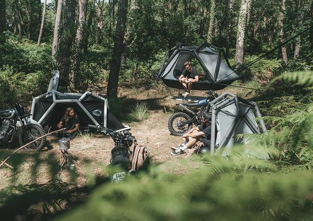 军用充气帐篷