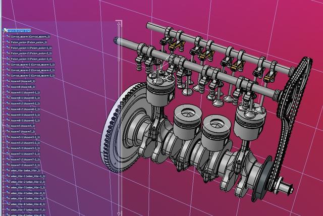 大众TDI发动机拆装更换凸轮轴教程!