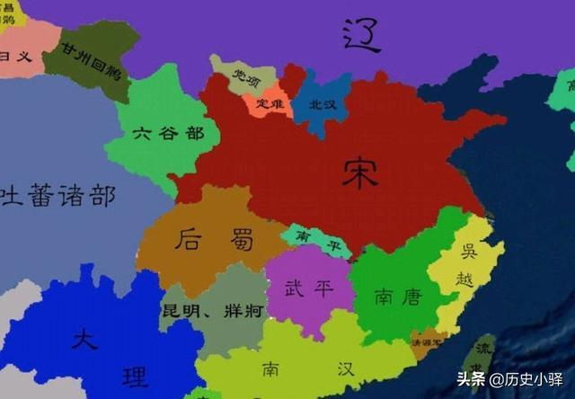 北宋陕西六路高清地图
