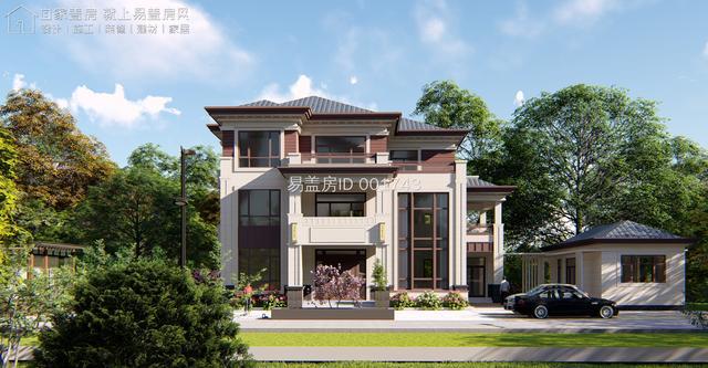 最低造价102万起建,这几套豪华别墅图纸你喜欢哪个?