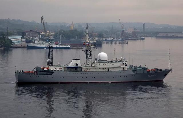 乌拉尔号测量船图片