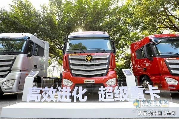 智能仪表、新配色 欧曼EST 2019款凭内饰分分... _手机中国卡车网