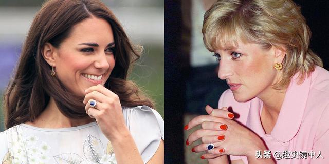 戴妃珠寶重見天日,看凱特梅根戴了什么就知道戴妃遺產怎么分