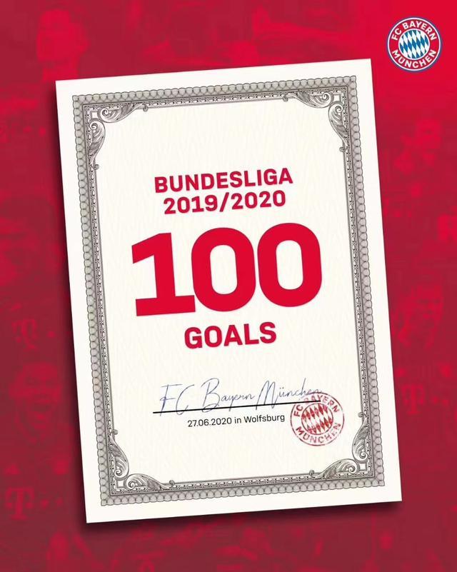 让我们盘点一下本赛季的拜仁打破了哪些纪录?打平了哪些纪录