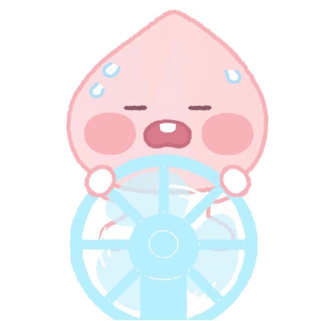 【卡通桃子头像】太热了吧魔方甜点壁纸