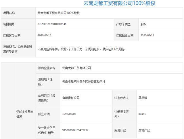 """昆明又一开发商即将谢幕?旗下两""""烂尾""""楼盘都要抛出"""