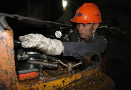关于煤矿井下安全漫画