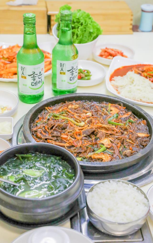 韩国料理店饮料图片