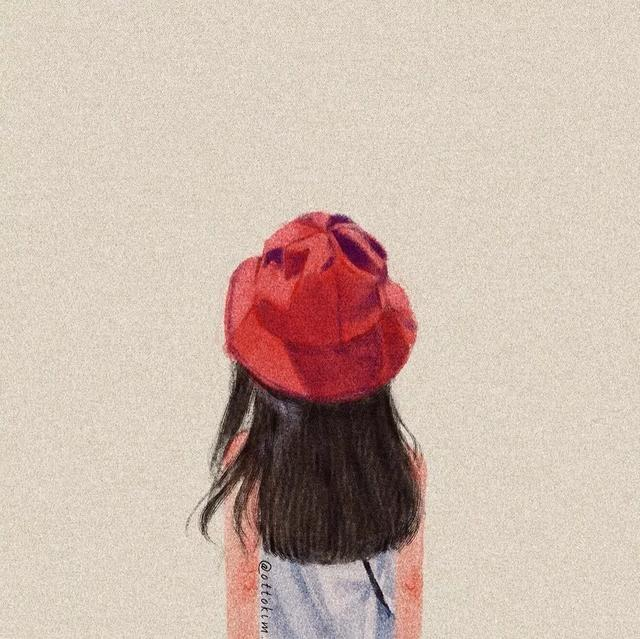 女生背面图片大全唯美