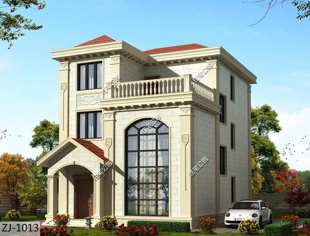 10款农村自建房设计方案,看完你还会在城里买房吗?(含图纸)
