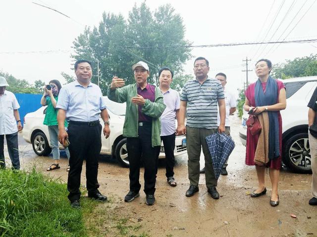 徐州寻访古村落活动走进拾家大院