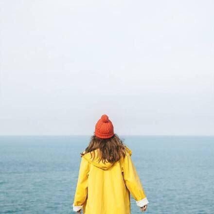 女生背面头像高冷