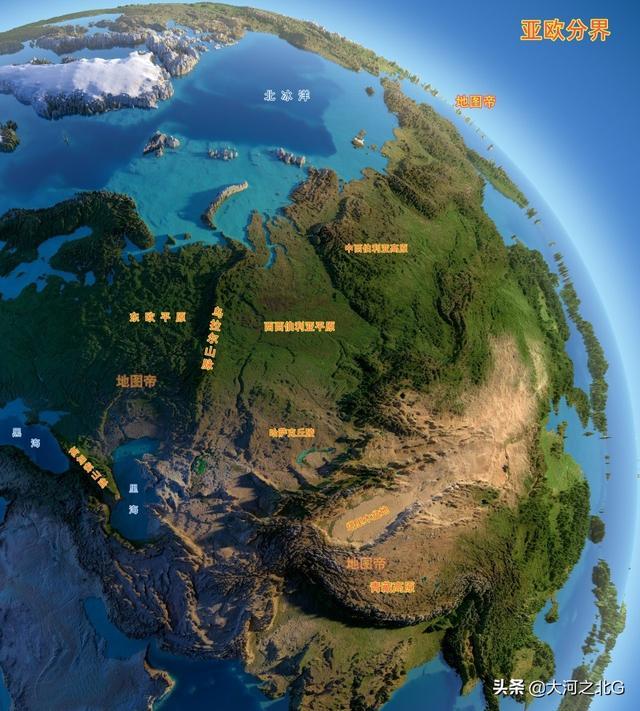 俄罗斯地图中国版