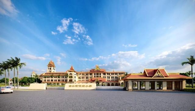 """金平县要建一所""""国门小学"""",为伉偭小镇配套教育,预计9月开学"""