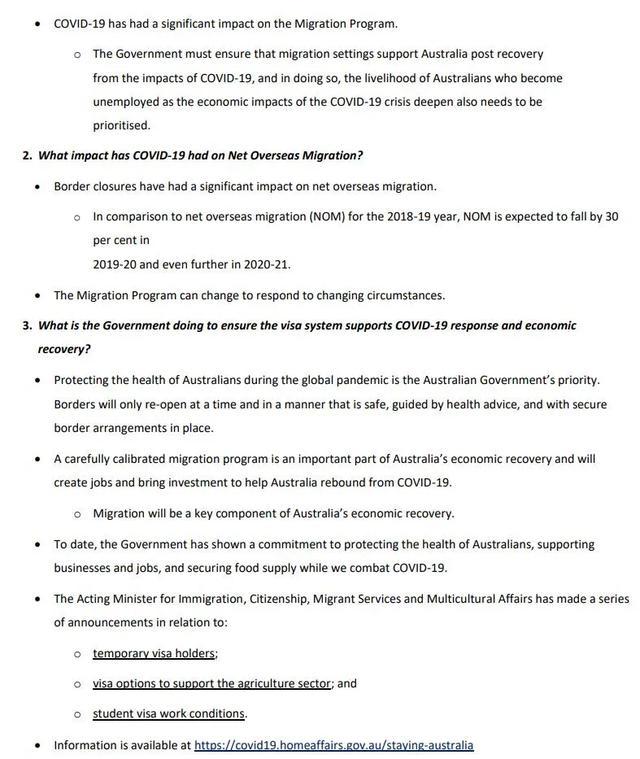 2020-21财年澳洲移民配额确定!16万不变!签证、州担保问题汇总