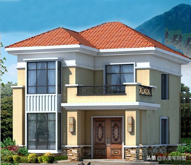 农村房子设计图一层楼