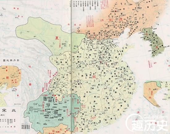 南宋各个时期地图