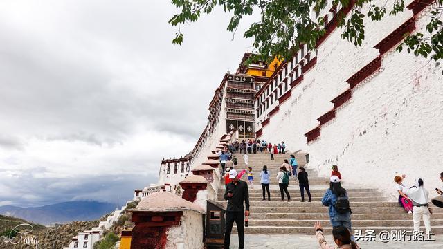 西藏布达拉宫图片全景