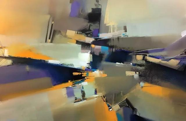 欧美抽象油画经典图集
