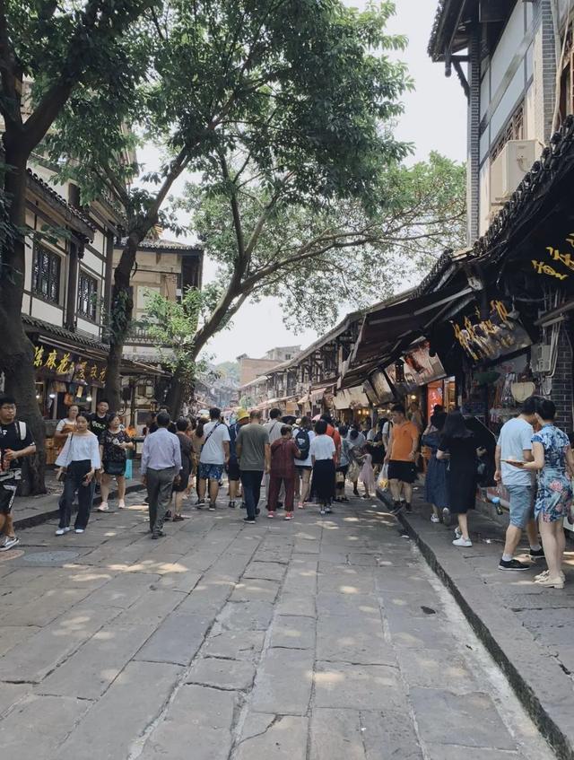 一条石板路 千年磁器口 到了重庆一定要来磁器口古镇逛逛_腾讯网