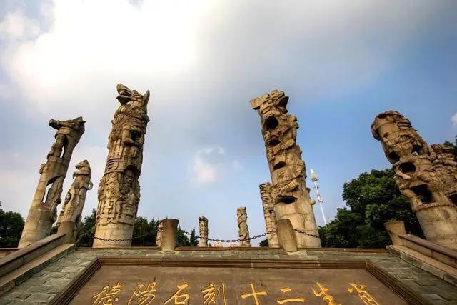 """四川又一公园走红,人称德阳""""吴哥窟"""",1080米的石墙撑起现..."""
