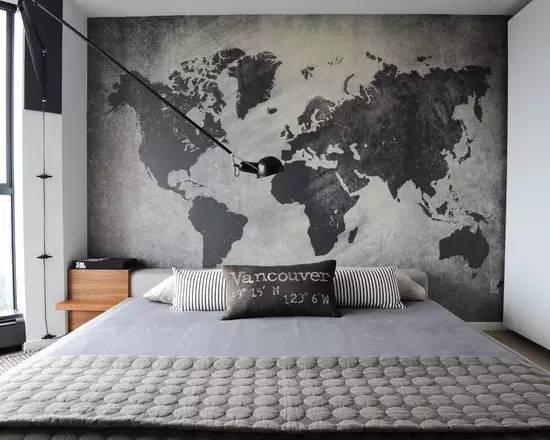 电视墙和卧室门一体图