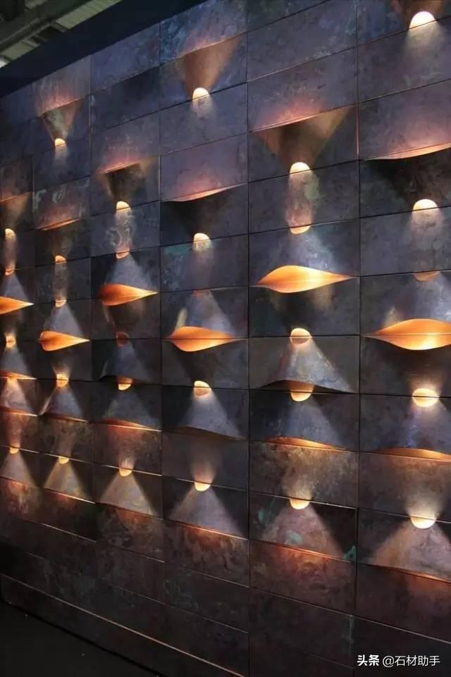 景墙设计平面及立面图