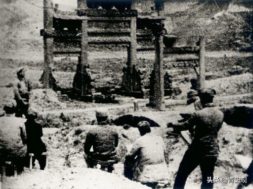 河北人回忆的抗战时的延安:炸弹皮拿来铸农具,八路军欢迎敌机来轰炸