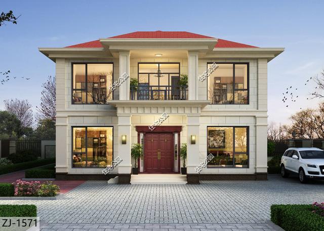 农村二层别墅合集,5套低造价的精美户型,总有一套适合你