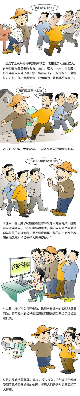 """纪检监察机关信访举报指南(五)""""信访电网""""四种举报方式处理效果都一样"""