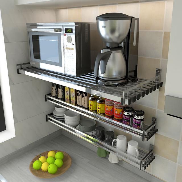 不锈钢架子置物架厨房