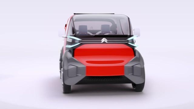 雪铁龙发布了旗下全新微型概念车—AMI ONE CONCEPT