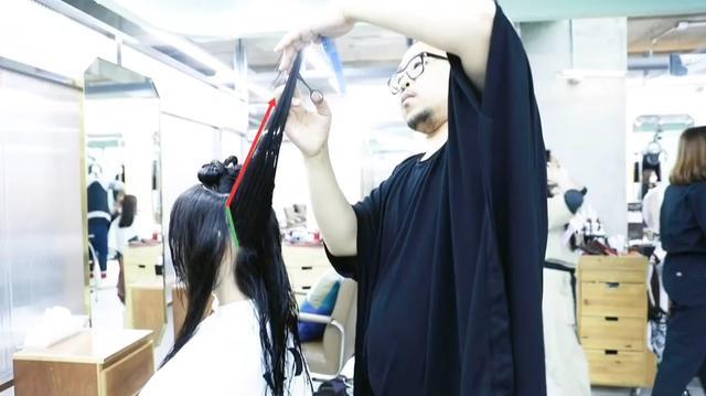 长碎发这样剪,效果就是不一般,时尚,修颜,气质好
