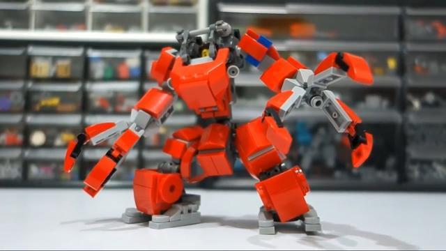 怎样用乐高积木玩具拼装一个可变形的变形金刚-少儿-高... -优酷