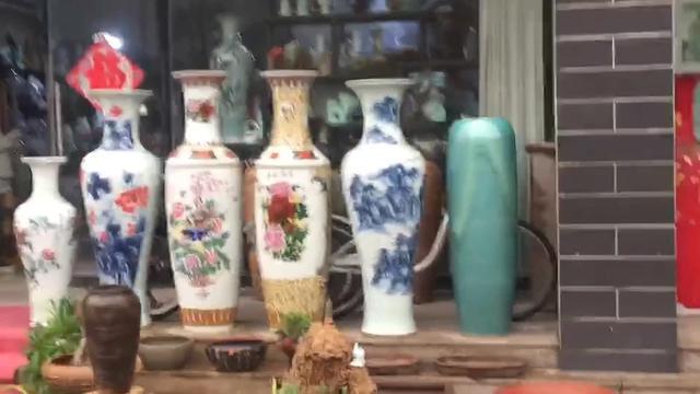 淄博陶瓷展女人图片图