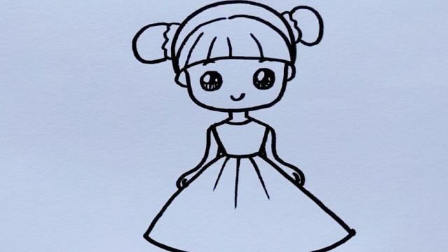 10岁最简单儿童画